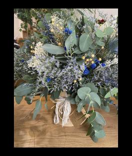 Blue Natural Box